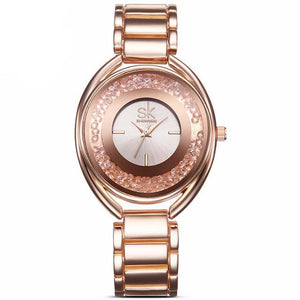 Fashion Women's Wrist Watches With Diamonds