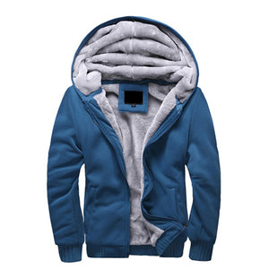 Winter Men's Casual Warm Thick Sweatshirts