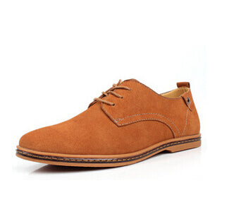 Men's Casual Derby Suede Oxfords Shoes