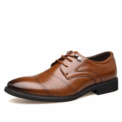 High Quality Genuine Leather Elegant Shoes For Men