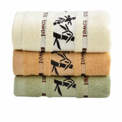 Bamboo Leaf Super Absorbent Fiber Face Towels