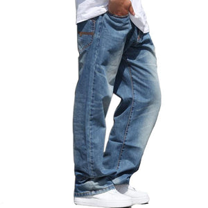 Wide Beautiful Blue Jeans For Men