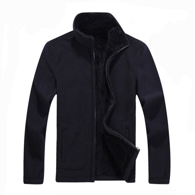 Men's Softshell Fleece Casual Jackets