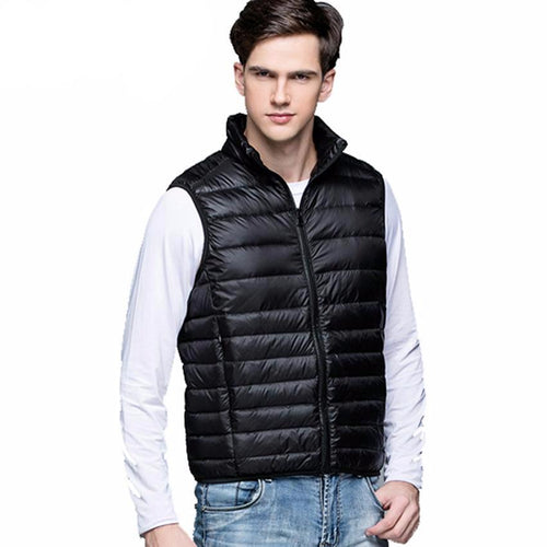 Men's Warm Ultralight Down Jackets Vests