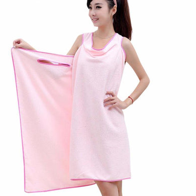 Super Absorbent Soft Bath Towels/Bathrobe For Women