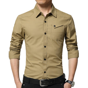 Casual Elergant Warm Men's Shirts