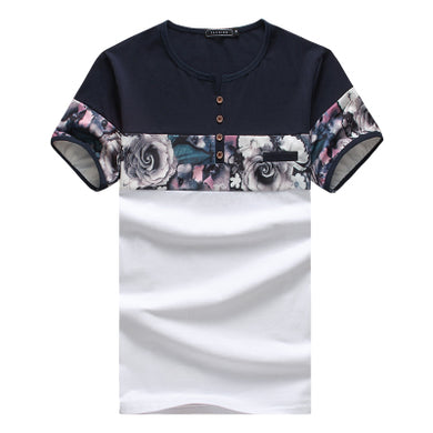 Fashion Flower Men's T-Shirts