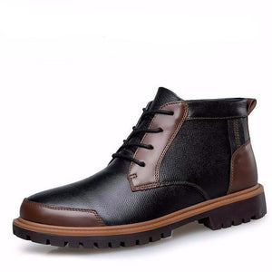 Comfortable Autumn Winter Plush Men's Boots