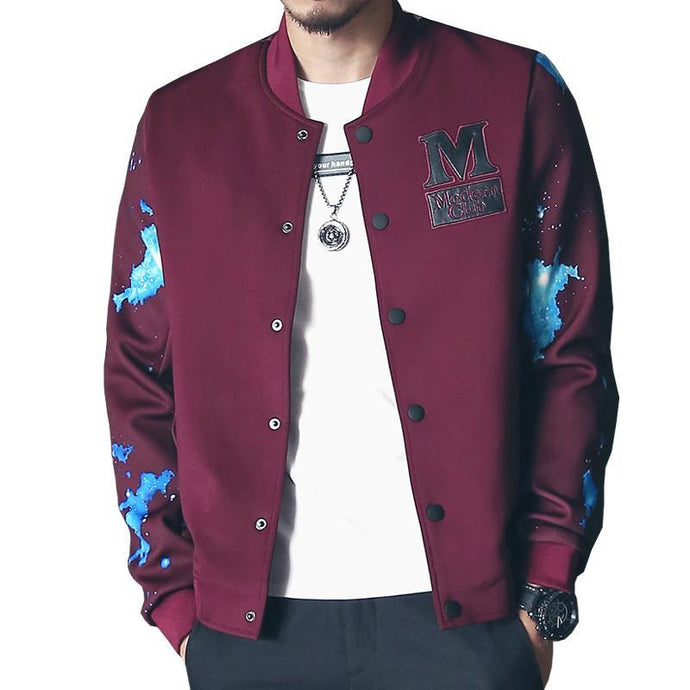 Stylish Men's Baseball Jacket