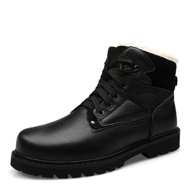 Warm Winter Mens Martin Boots