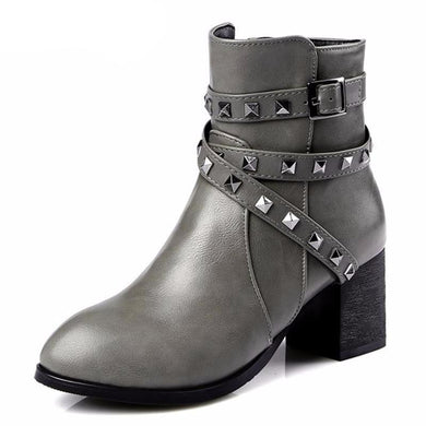 Fashion Soft Leather Women's Boots