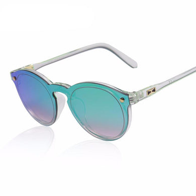 Women's Retro Reflective Mirror Sunglasses