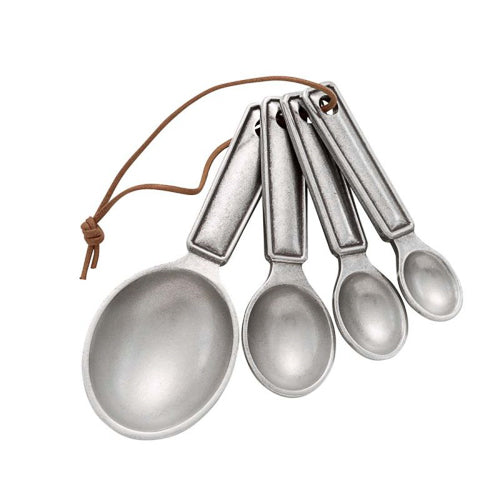 Queen Anne Pewter Measuring Spoon Set