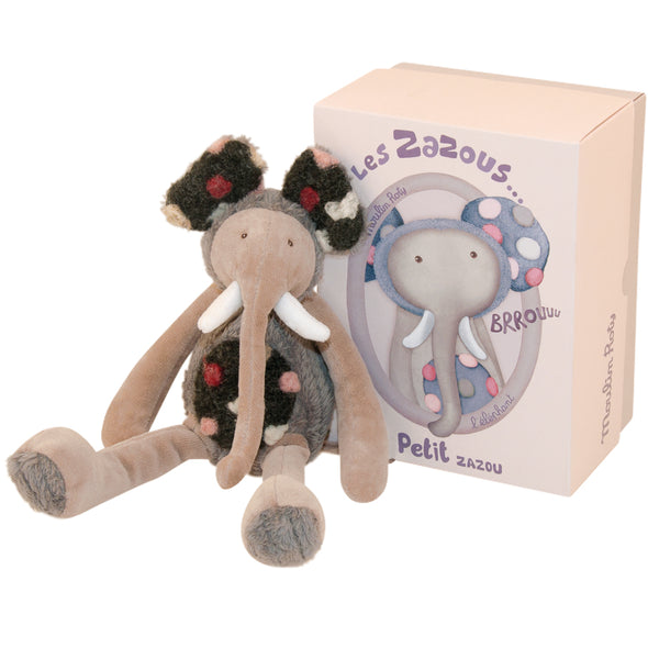 10 inch, non-toxic stuffed toy Elephant from Moulin Roty would make a unique keepsake gift for baby or toddler.