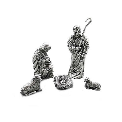 Pewter Holy Family - The Nativity Collection