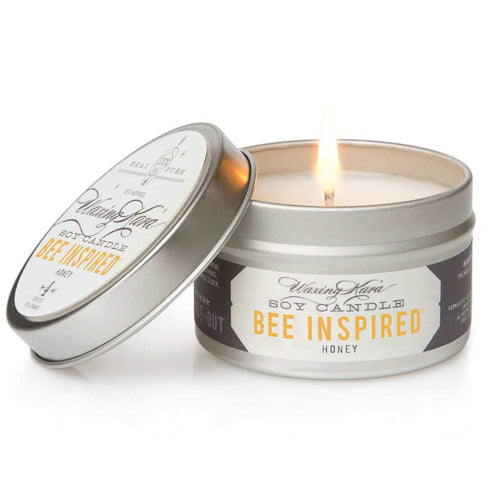 Bee Inspired Honey Tin Candle