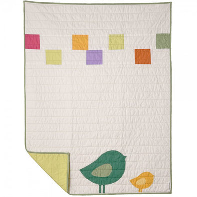 Baby/Toddler Born Loved  Cotton Quilt from American Made Brand