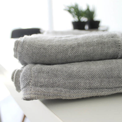 Natural Linen Bath Towel