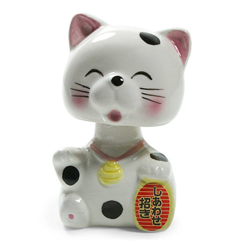 Bobble Head Fortune Cat