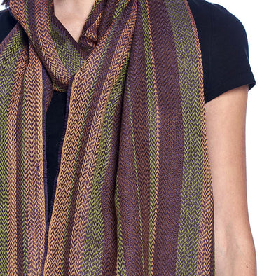 Alpaca Liviano Scarf - Spiced Apple