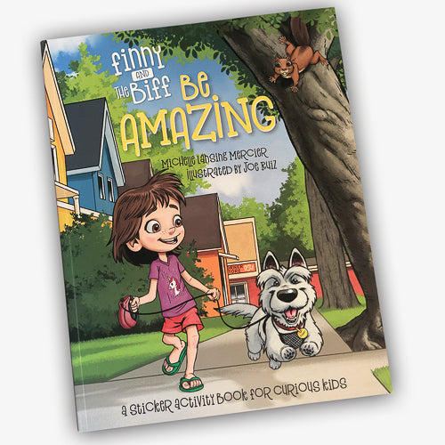 Finny and The Biff - Be Amazing - Sticker Story Book