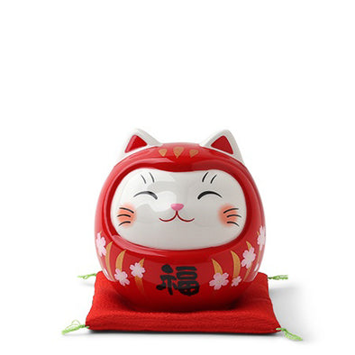Daruma Fortune Cat Bank