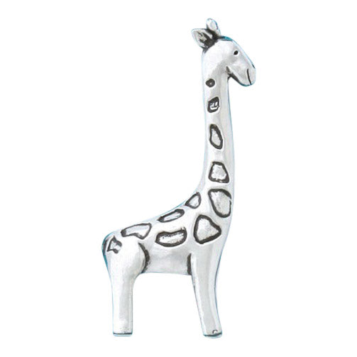 Pewter Giraffe Ring Holder