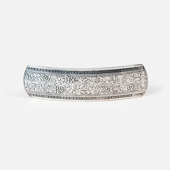 Grapevine Pewter Barrette