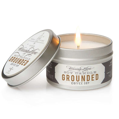 Grounded Coffee Tin Candle