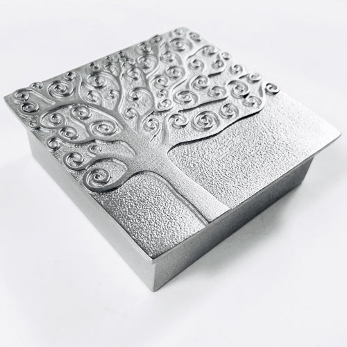 Friendship Pewter Treasure Box