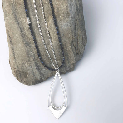 Balance Earrings and Necklace by Julia Britell