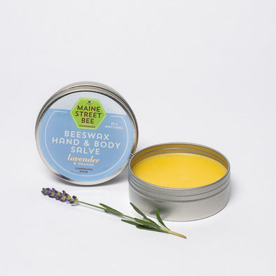 100% Natural Lavender Beeswax Hand Salve