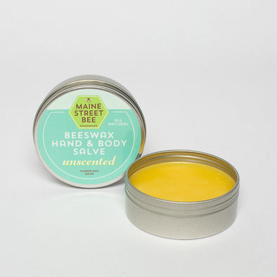 100% Natural Unscented Beeswax Hand Salve