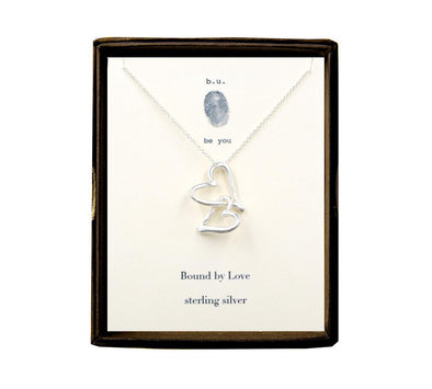 Bound By Love Sterling Silver Necklace