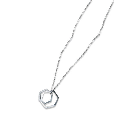 Oxygen Necklace- Sterling Silver