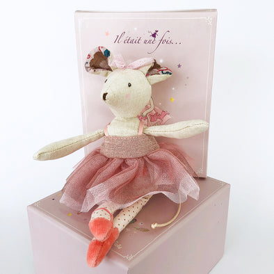 Prima Ballerina Mouse Plush Toy by Moulin Roty