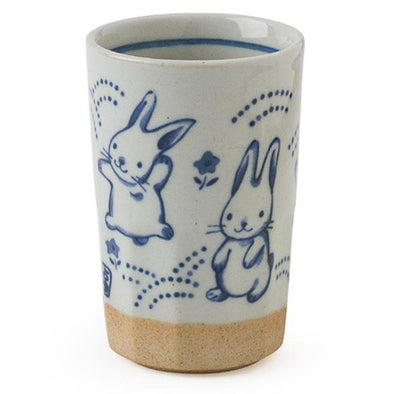 Blue Rabbits Cup