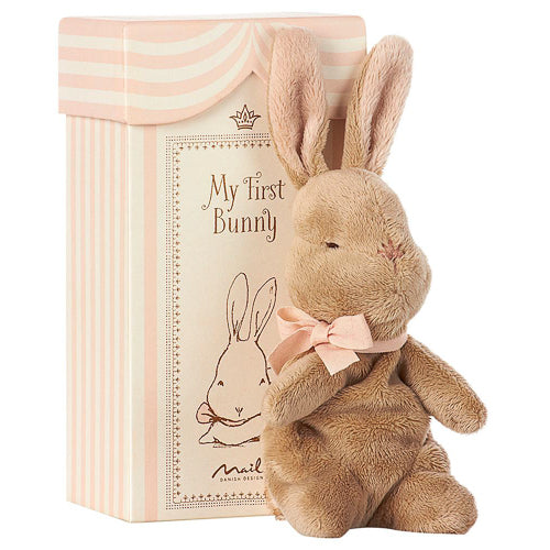 My First Bunny In Box by Maileg - Rose