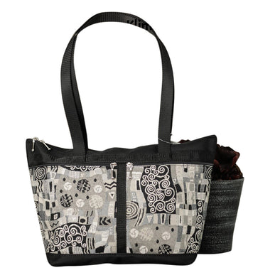 Large French Satchel Tote - Vegan
