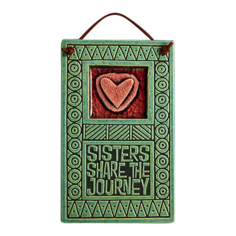 Handcrafted Melted Glass Wall Art | Sisters Share the Journey