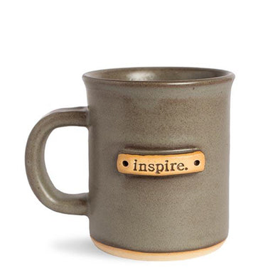 """Inspire"" Handcrafted Affirmation Coffee Mug"