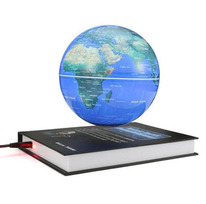 Globe world map book shape magnetic levitation automatic rotation globe world map book shape magnetic levitation automatic rotation floating globe gumiabroncs Image collections