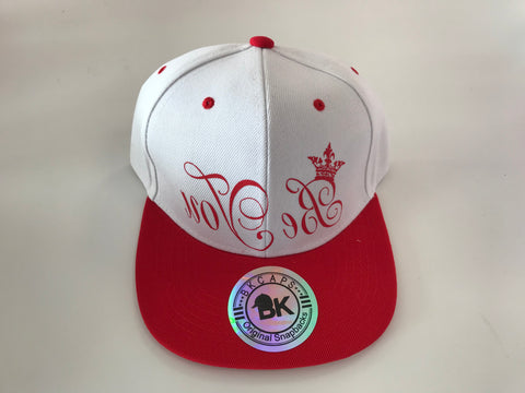 Be You Red and White Snapback