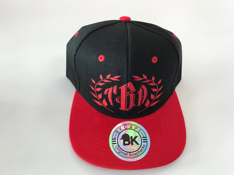 TBA Red and Black Snapback