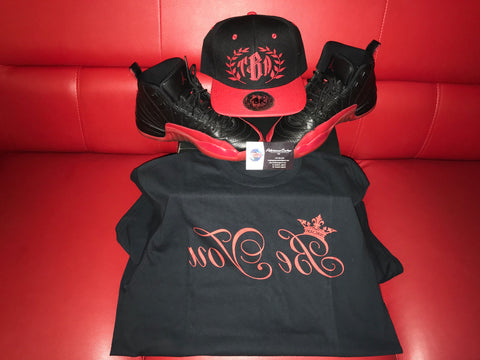 Black and Red Be You Tee