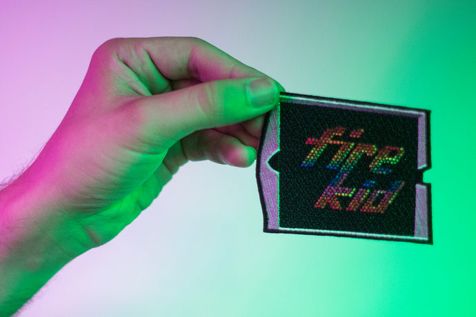 Lite Brite Sticker Patch