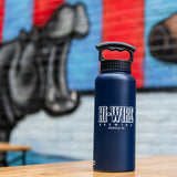 34oz Vacuum-Insulated Growler/Water Bottle