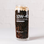 10W-40 Tallboy Glass, 16oz