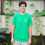 Green & Yellow Walker T-shirt