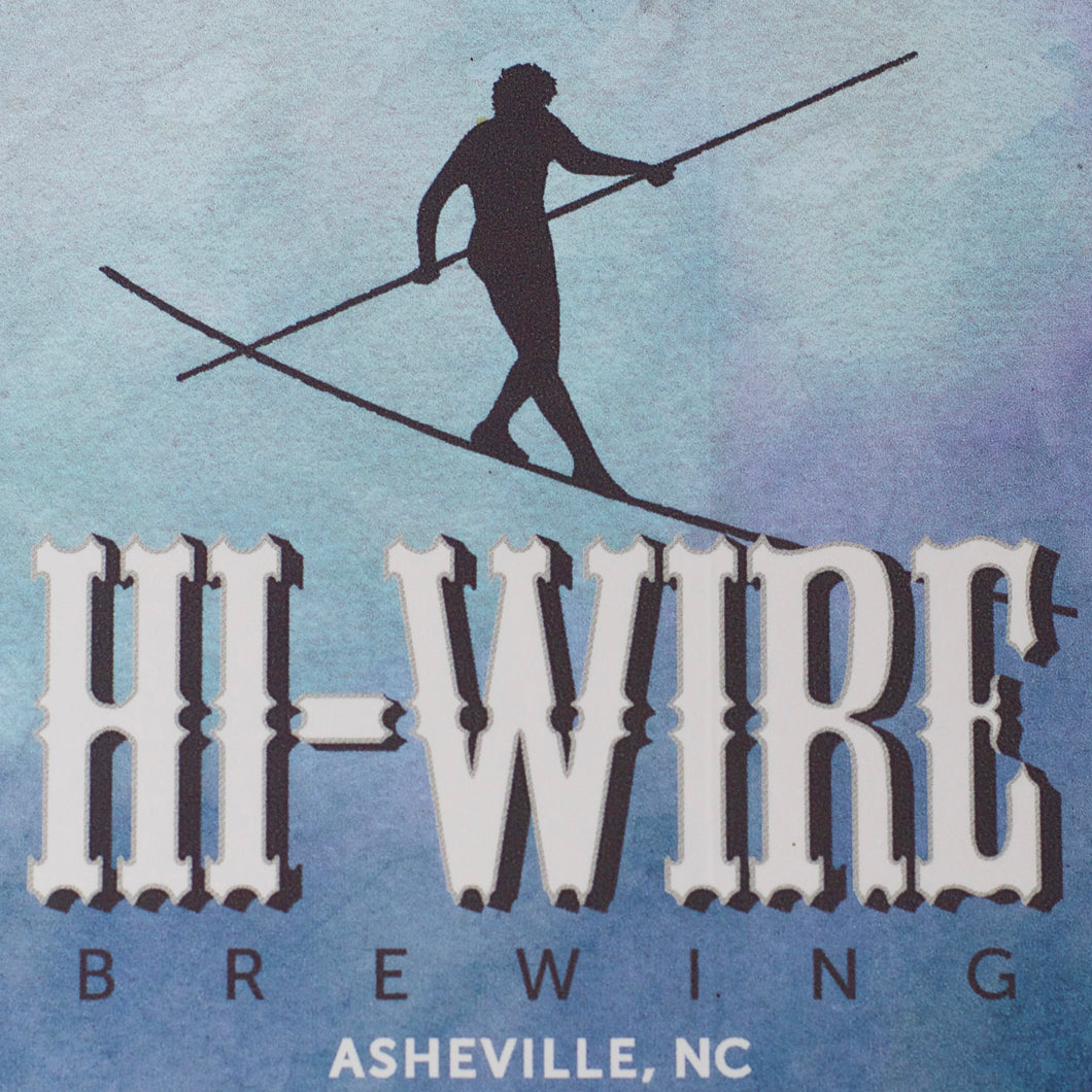 Hi-Wire Sticker